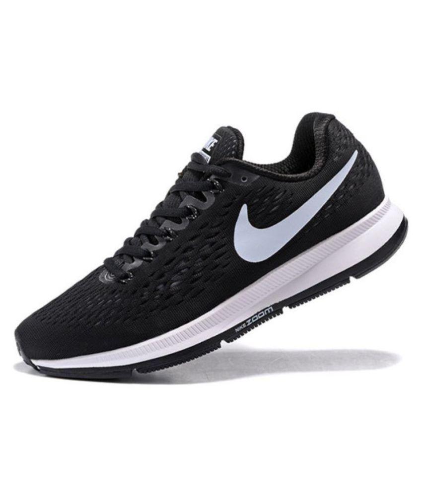 Nike 2018 PEGASUS 34 ZOOM VOMERO Black Running Shoes ...