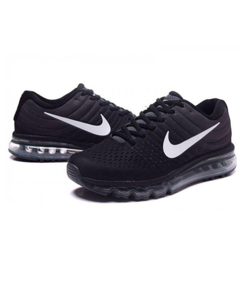 nike sport shoes black colour sarees
