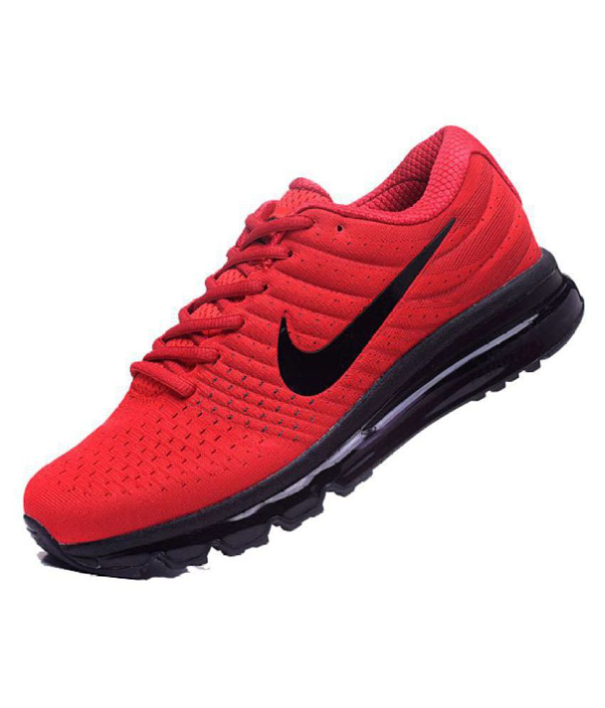 Nike Shoes Red Colour