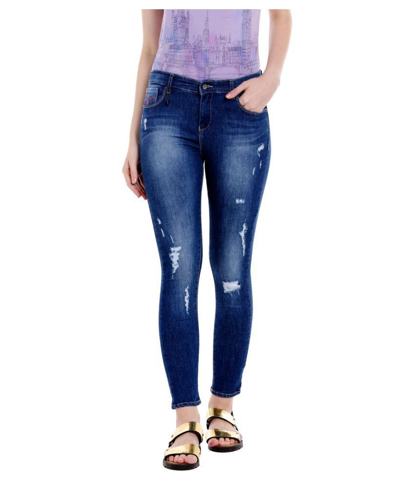 Spykar Cotton Jeans - Blue