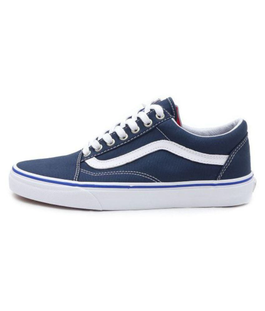 20f8bede3bcc7 VANS Old Skool Blue Casual Shoes - Buy VANS Old Skool Blue Casual ...