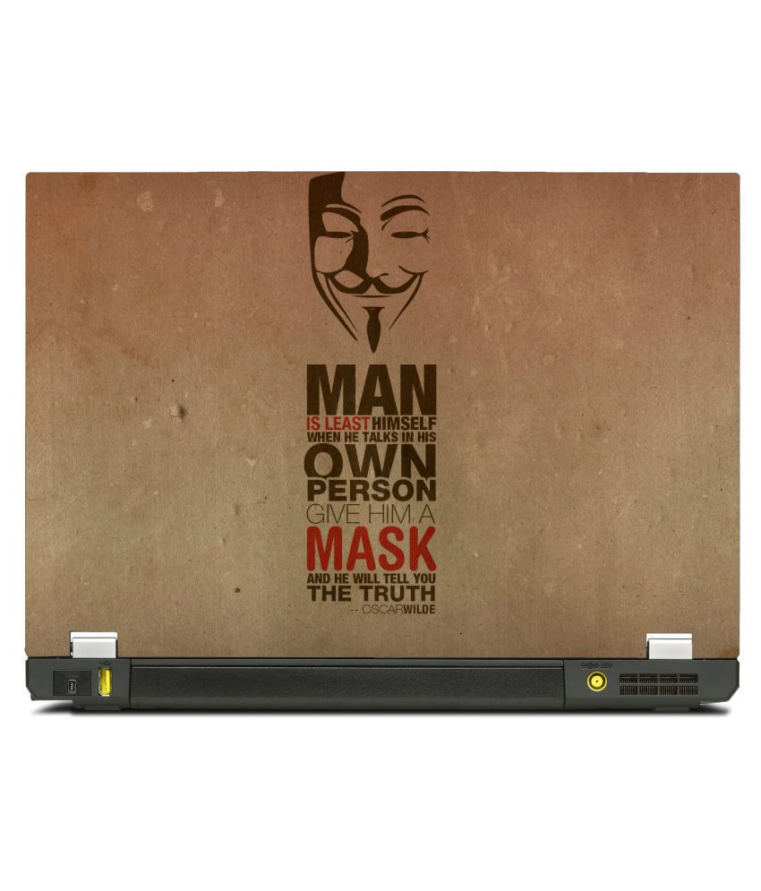 New Shimmering Special Give Him A Mask Quote Oscar Wilde 133