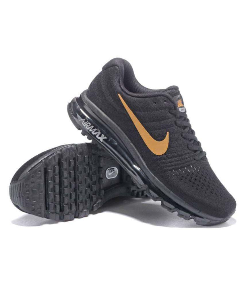 nike shoe black colour