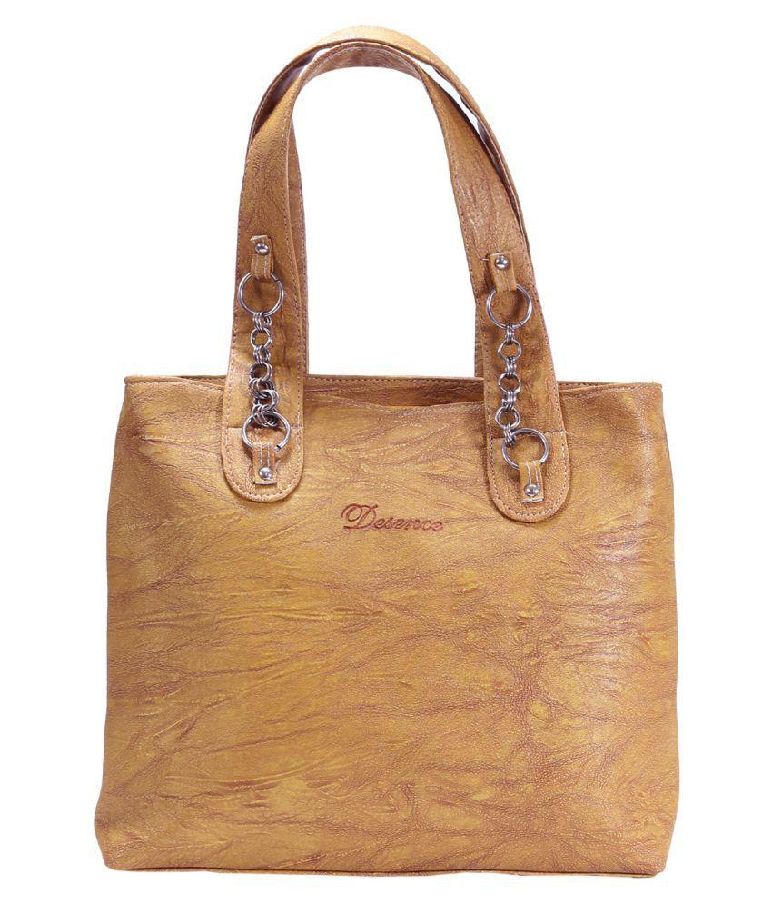 Desence Multi Faux Leather Shoulder Bag