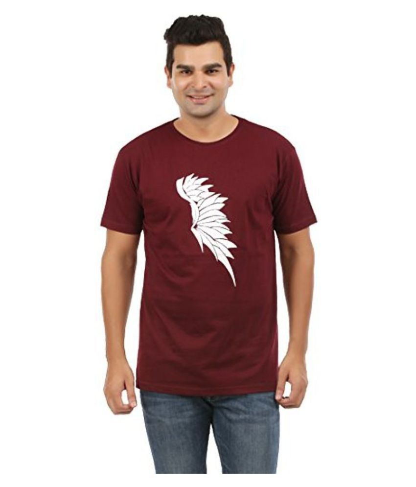 Trends Tower Maroon Round T-Shirt