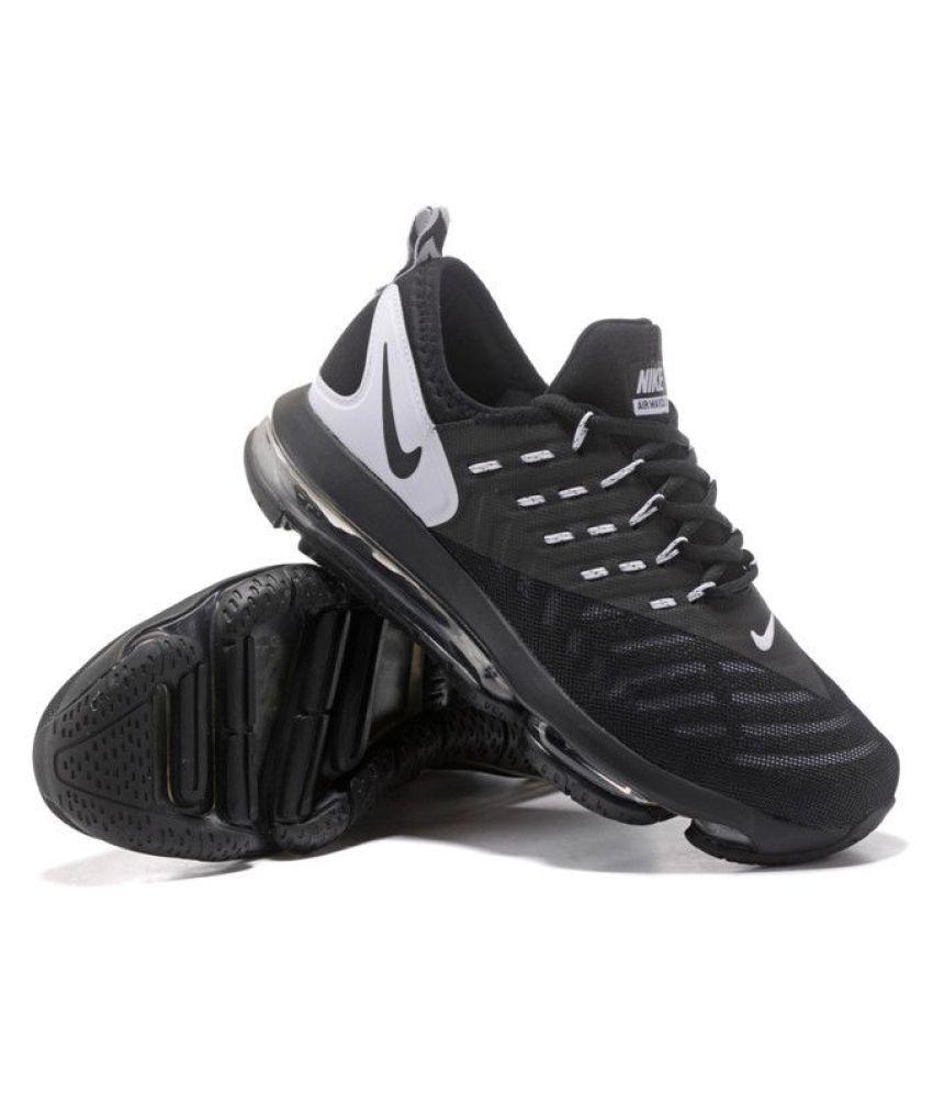 Nike Air Max 2018 DLX Black Running Shoes