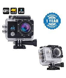 Blue Arrows Waterproof Sports Action Camera - 4K Ultra HD 1920 x 1080 (Full HD): 30p / 25p / 24p) MP Video Camera