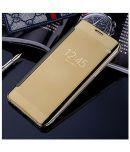 Samsung Galaxy J7 Max Flip Cover by BBR - Golden