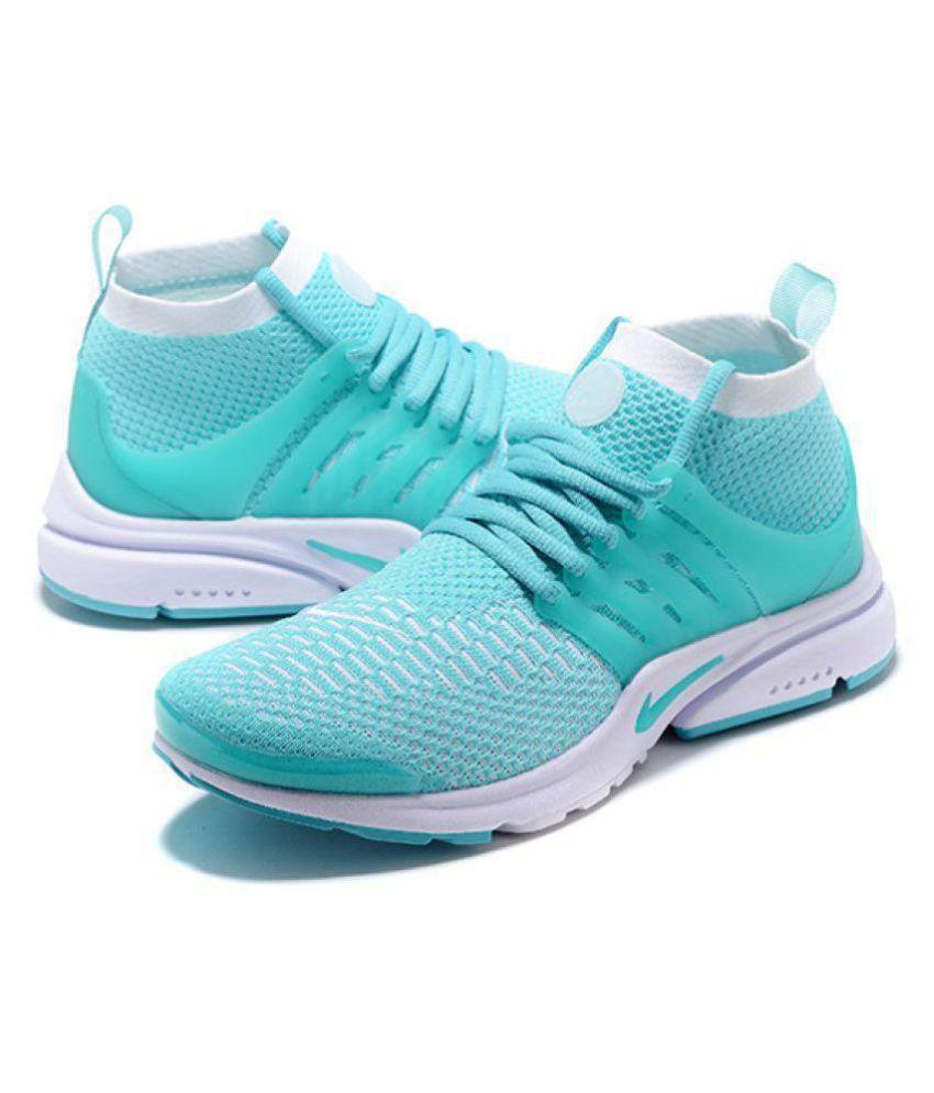 1c0aa0d48 Nike Air Presto Flyknit Green Running Shoes - Buy Nike Air Presto ...