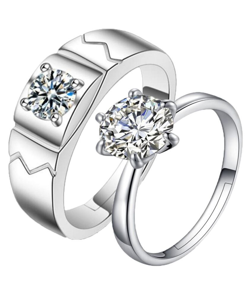 rings round colorless free product today gold one ring moissanite forever charles shipping solitaire colvard jewelry watches dew overstock white