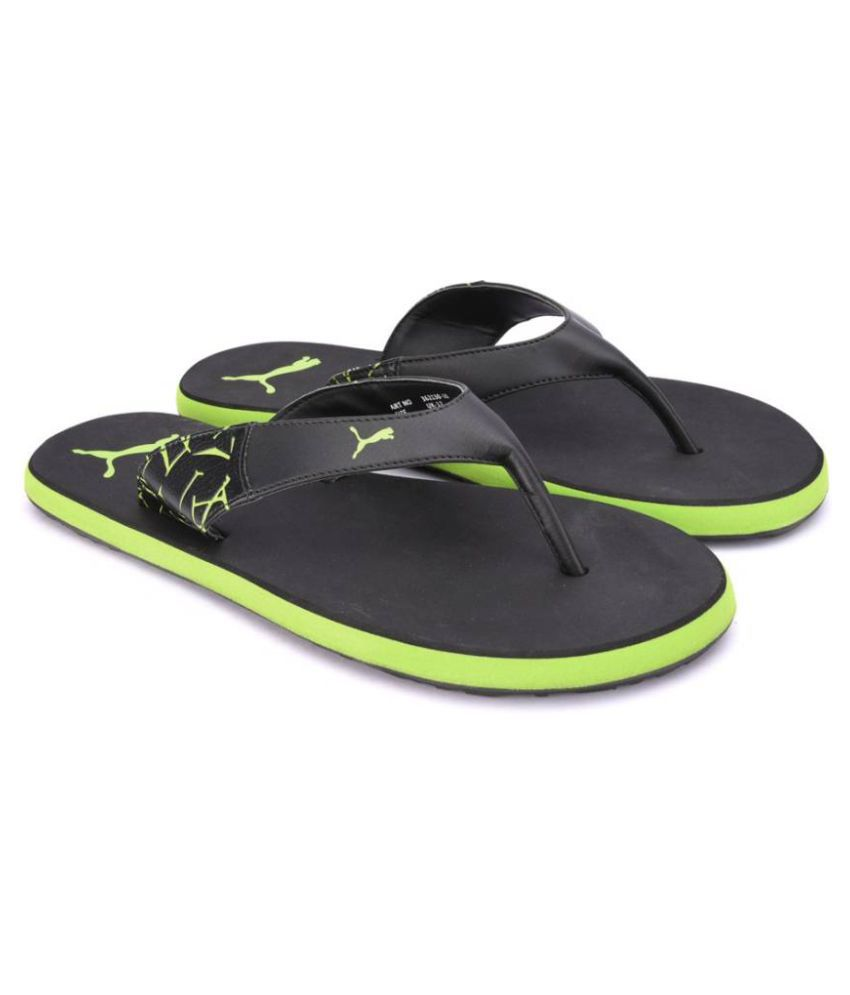 32c60e598a1e Puma Men Winglet II DP Black Thong Flip Flop Price in India- Buy Puma Men  Winglet II DP Black Thong Flip Flop Online at Snapdeal