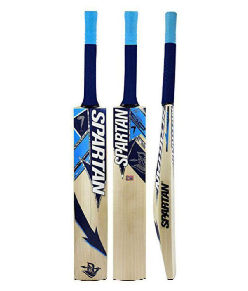f049c0d498f Spartan Popular Willow Cricket bat ( For Hard Tennis Ball): Buy Online at  Best Price on Snapdeal