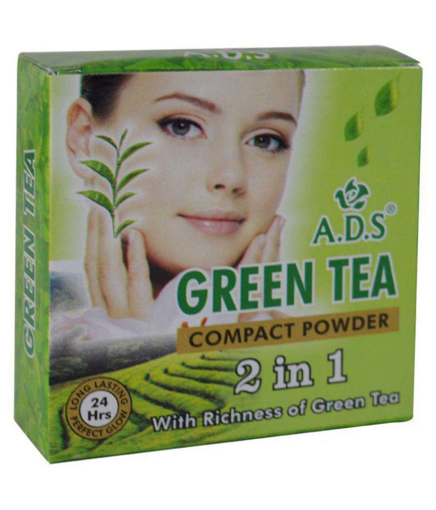 ADS Pressed Powder Foundation With ADS Blemish Balm Cream 23.5 gm