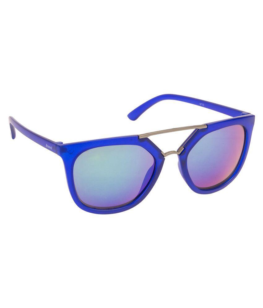 Arzonai Blue Wayfarer Sunglasses ( MA-074-S4 )