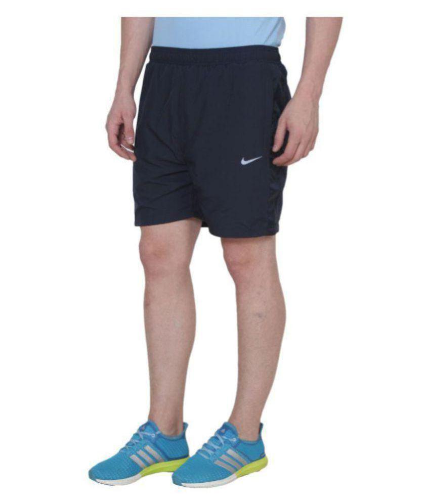 Nike Black Shorts for Running Gaming Nightwear
