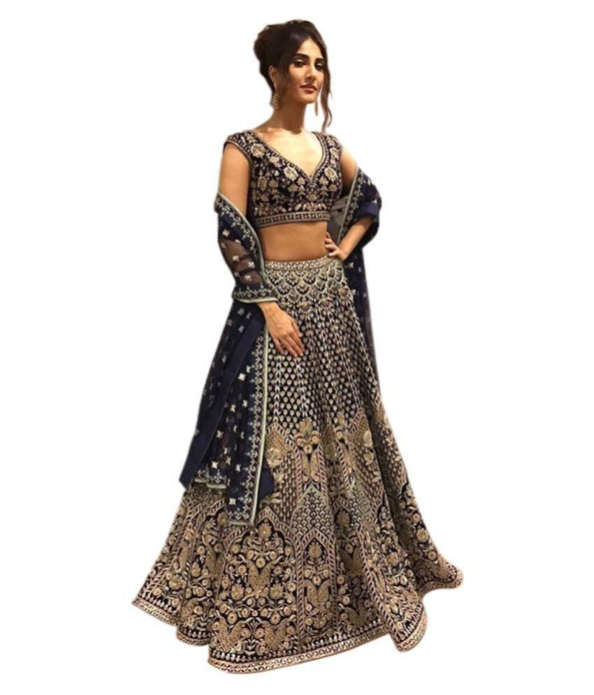 b39df21b35 Rozdeal Beige and Grey Banarasi Silk Semi Stitched Lehenga - Buy Rozdeal  Beige and Grey Banarasi Silk Semi Stitched Lehenga Online at Best Prices in  India ...