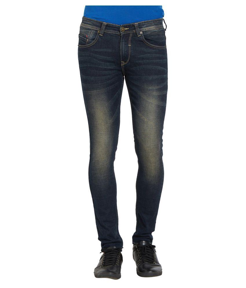 Spykar Blue Super Skinny Jeans