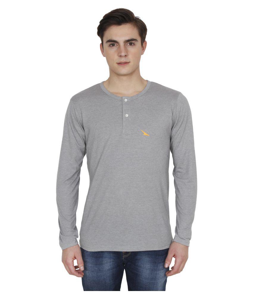 PRO Lapes Grey Henley T-Shirt