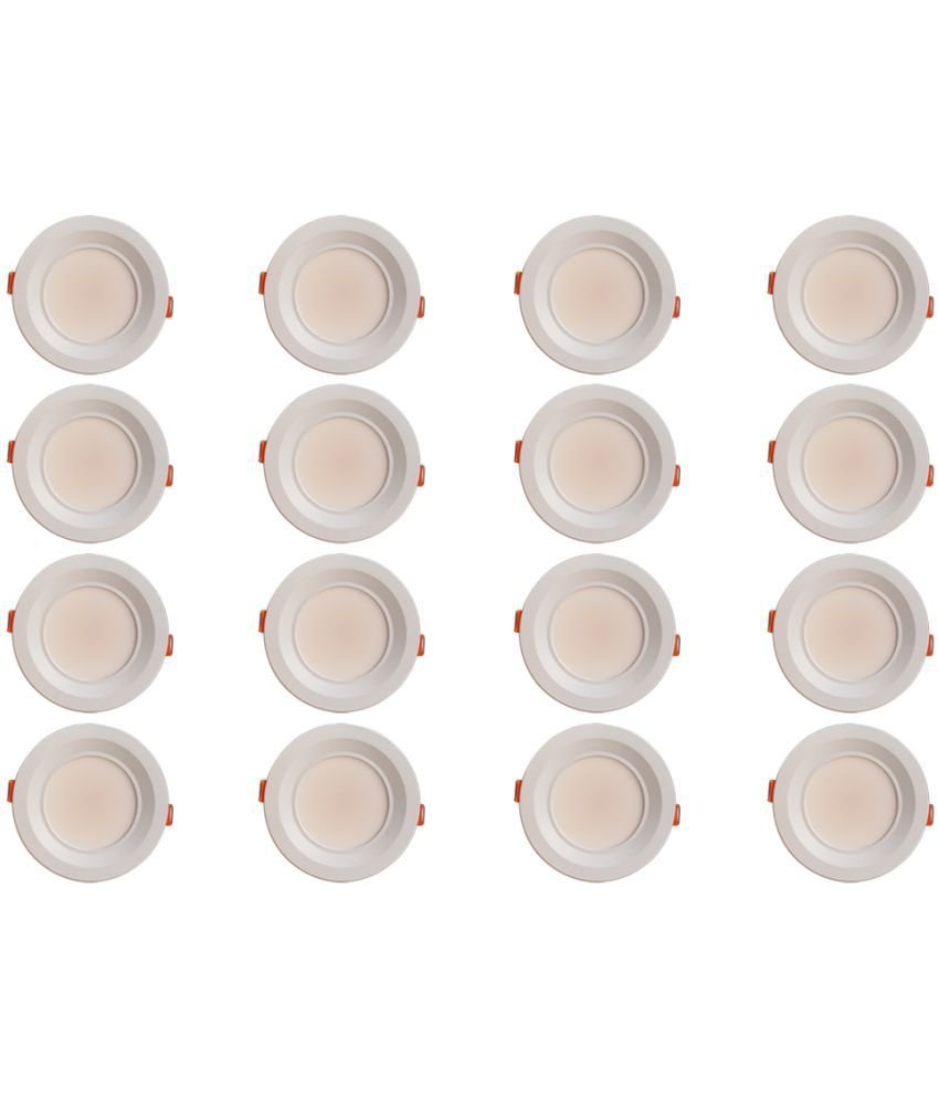Bene 7W Round Ceiling Light 11 cms. - Pack of 16