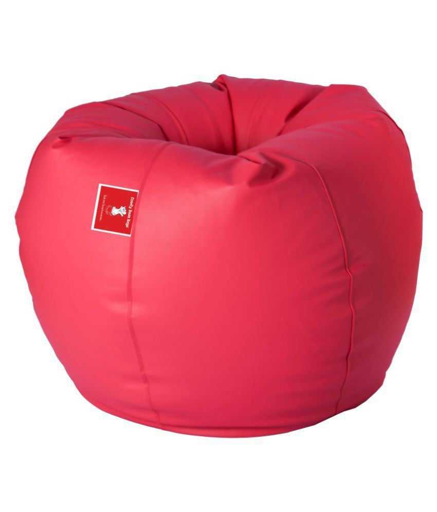 Phenomenal Comfy Bean Bags Bean Bag Size Xxl Filled With Beans Filler Pink Gamerscity Chair Design For Home Gamerscityorg