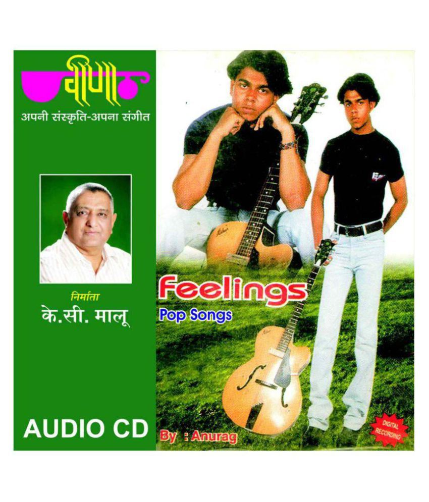 Feelings - Hindi Pop ( Audio CD )- Rajasthani