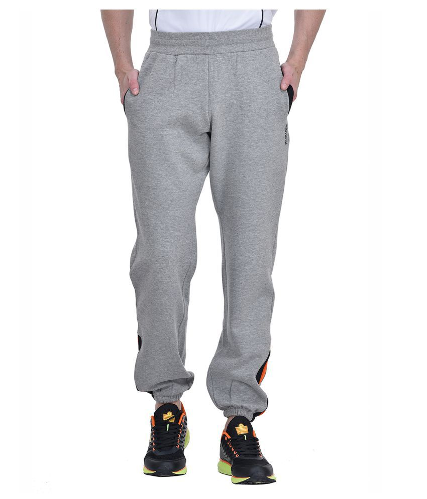Admiral Grey Regular -Fit Pleated Joggers