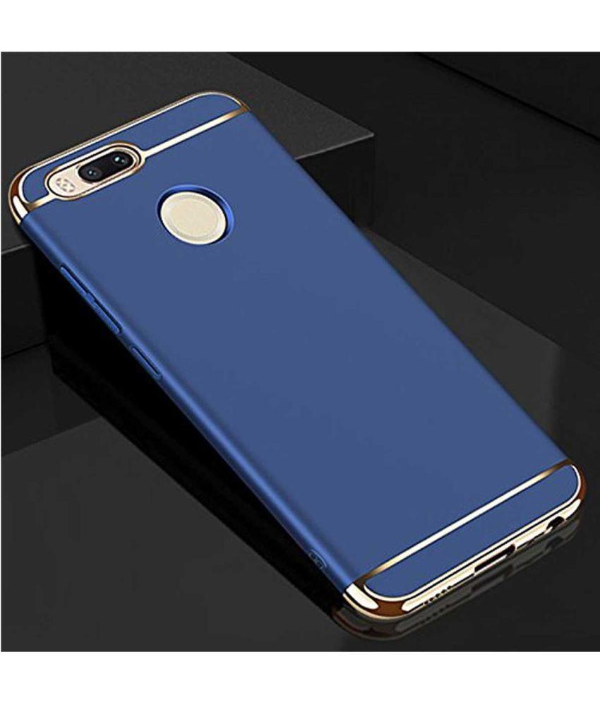 reputable site 68765 0cdd2 Xiaomi MI A1 Plain Cases TBZ - Blue