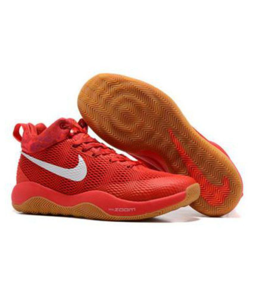 hot sale online acac5 0c854 Nike ZOOM REV EP KAY YOW BEAST Red Basketball Shoes ...