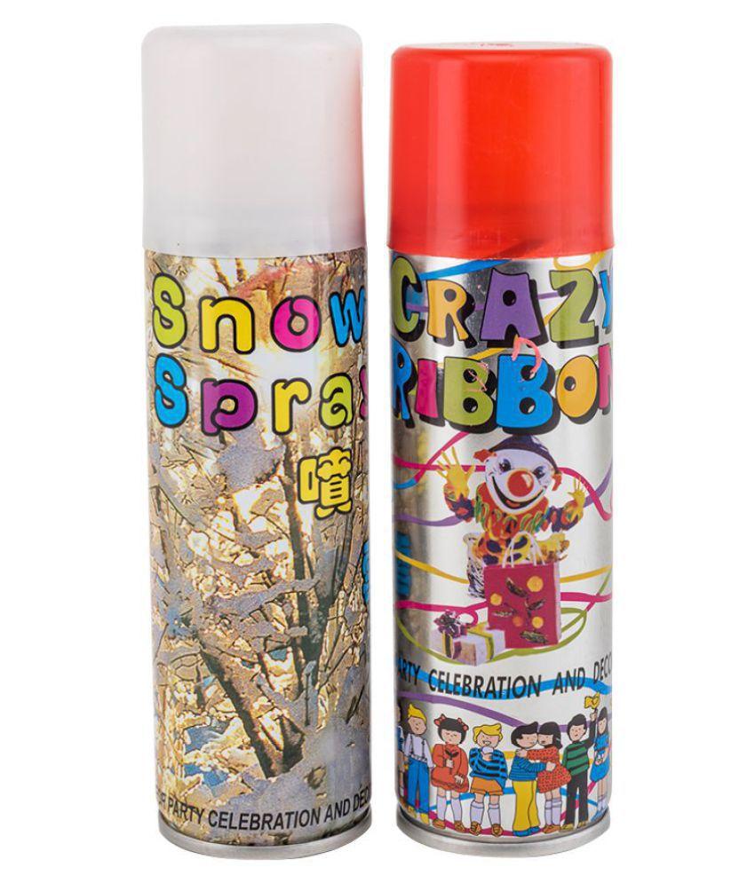 Enjoy Taiwan Combo Pack of Snow Spray & Ribbon Spray
