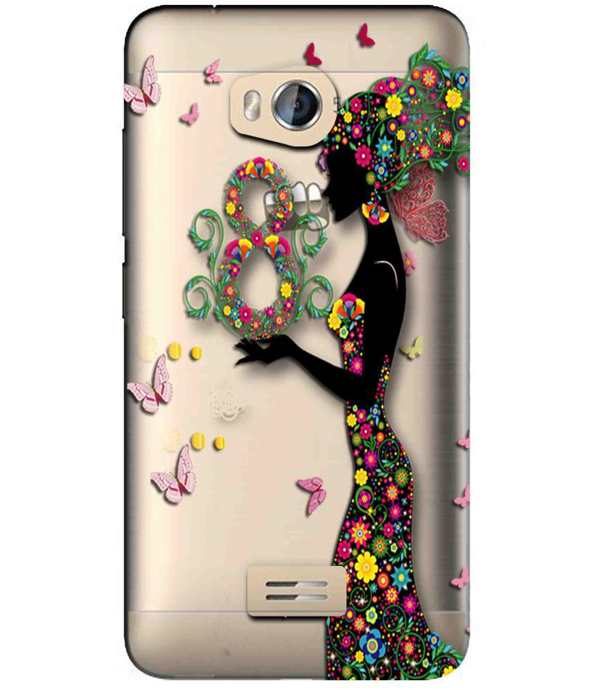 Micromax Bolt Q336 Printed Cover By Snooky