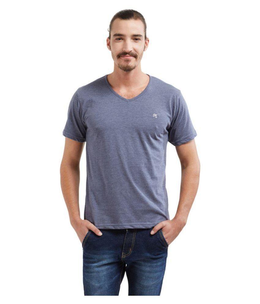 Springfield Grey V-Neck T-Shirt