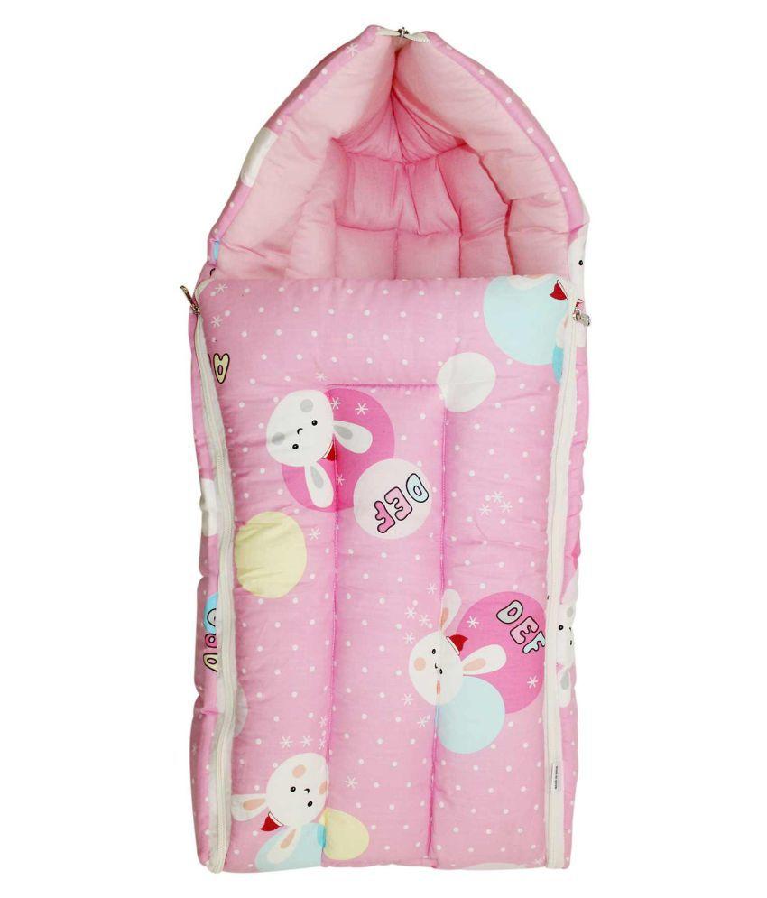 Tumble Pink Cotton Sleeping Bags ( 73 cm × 45 cm)