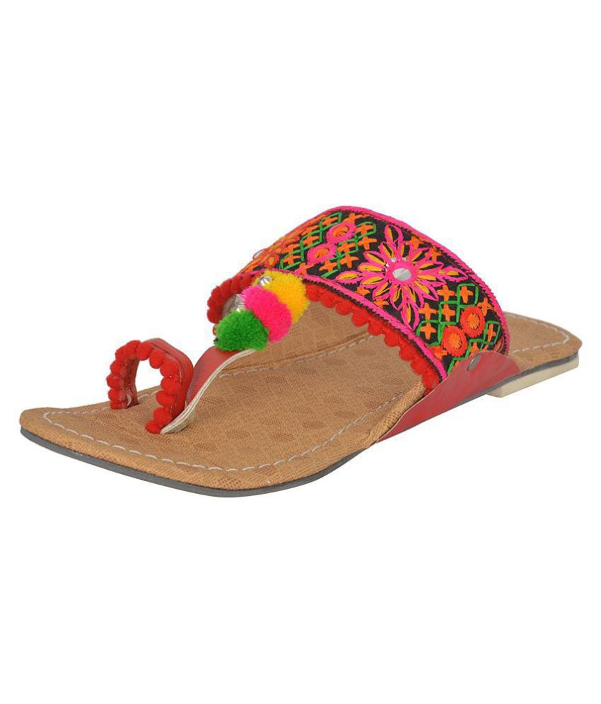 Ankita Multi Color Ethnic Footwear