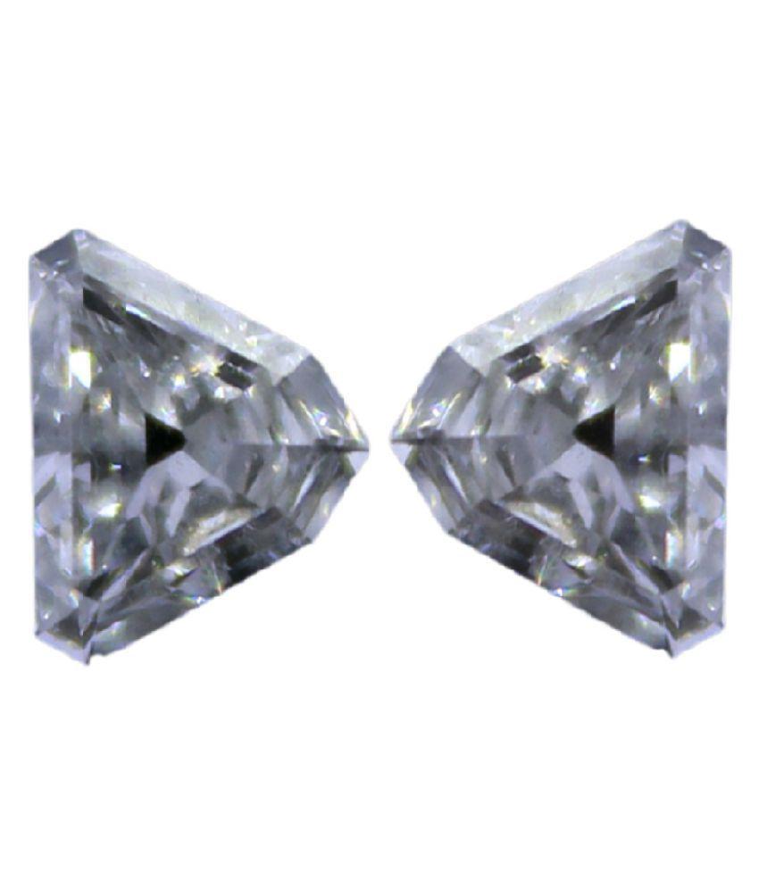 Pair of Triangle Loose Diamond