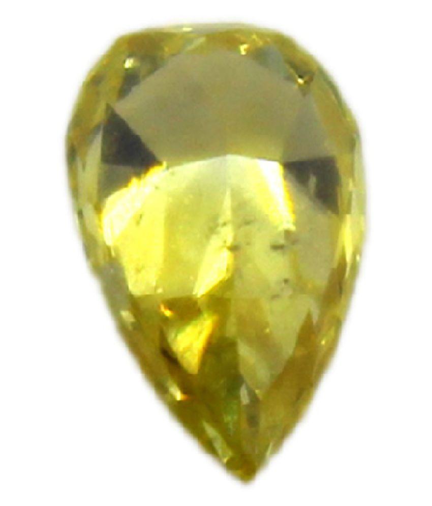 Pear Orange Yellow Loose Diamond