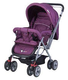 Toyhouse Baby Stroller Pram Universal, Purple