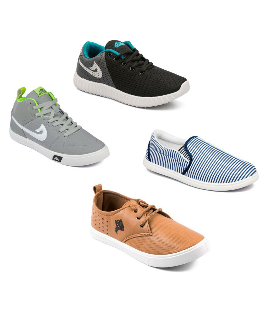 Asian Shoes Multi Color Casual Shoes discount authentic under $60 cheap online discount official xUByNR