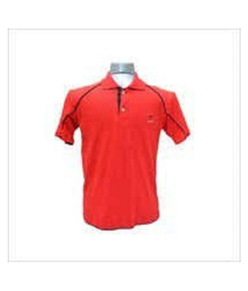 ujjawal fashion Red High Neck T-Shirt