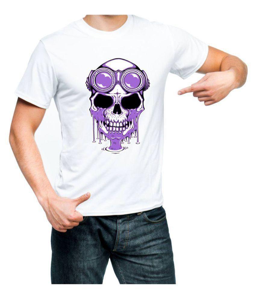 Fantaboy White Round T-Shirt