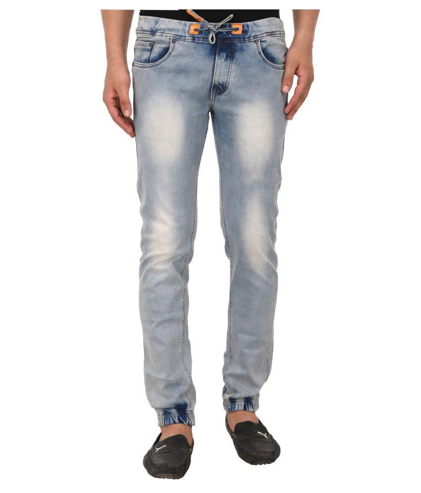 Lafantar Brown Slim Jeans