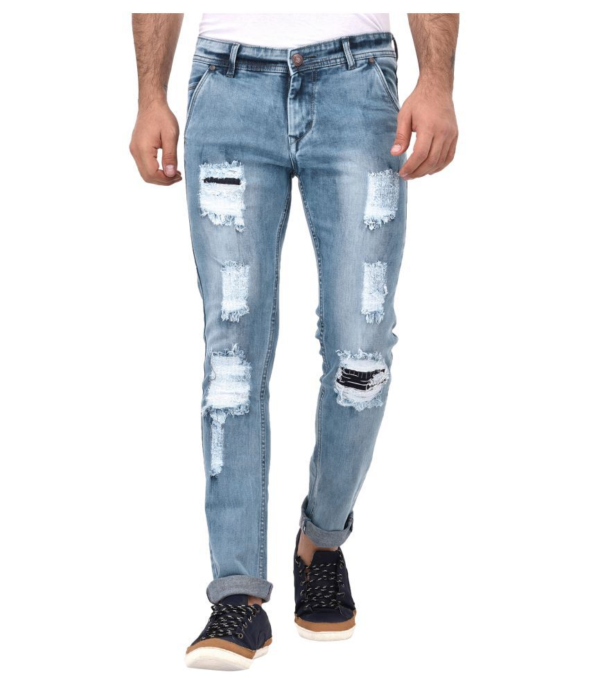 Lafantar Green Skinny Jeans