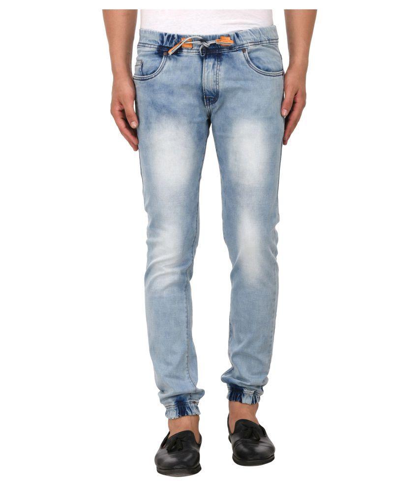 Lafantar Green Slim Jeans