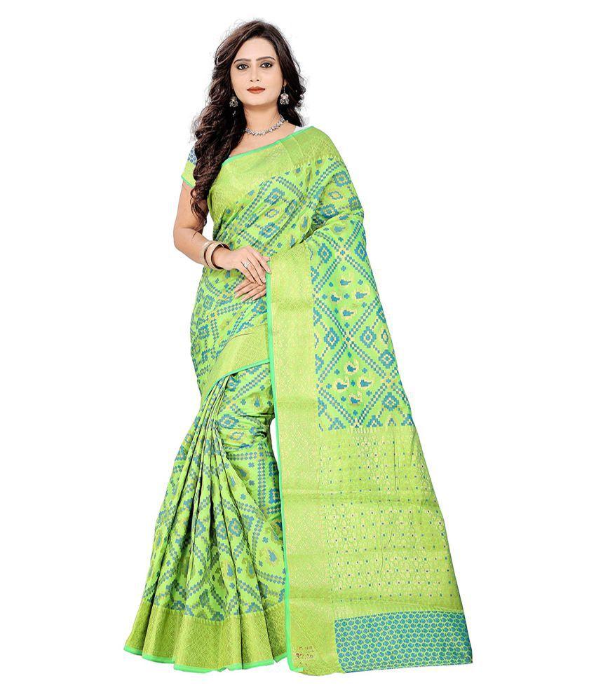 Saloni Designer Magenta Banarasi Silk Saree