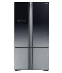 Hitachi 650 Ltr Inverter Compressor Hitachi - WB730PNDS-XGR (650 LITRE ) Side-By-Side Refrigerator - Black