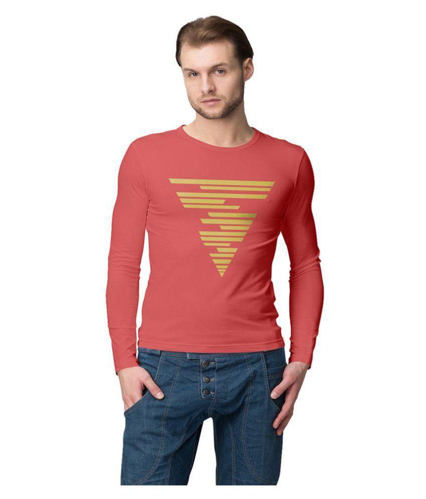 American-Elm Orange Round T-Shirt Pack of 1