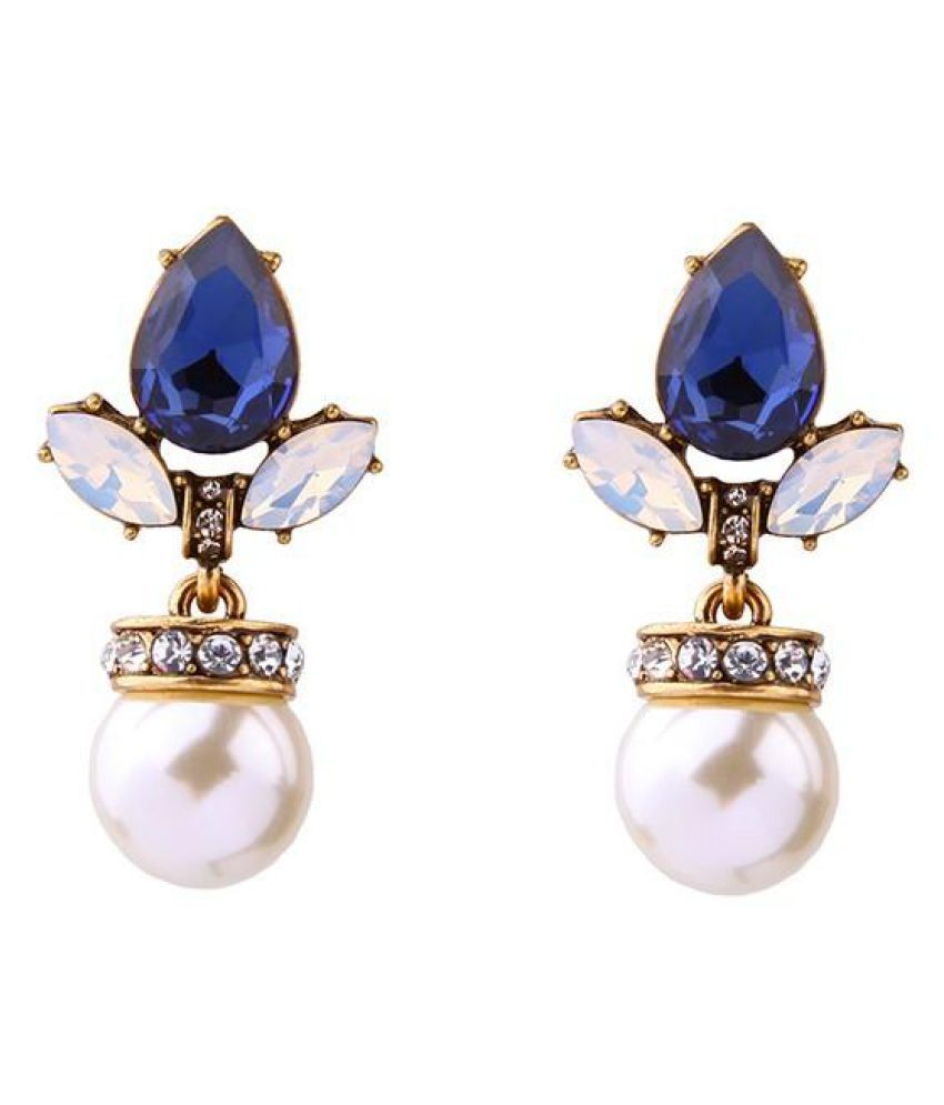 Bling Style Candida Pearl Earrings