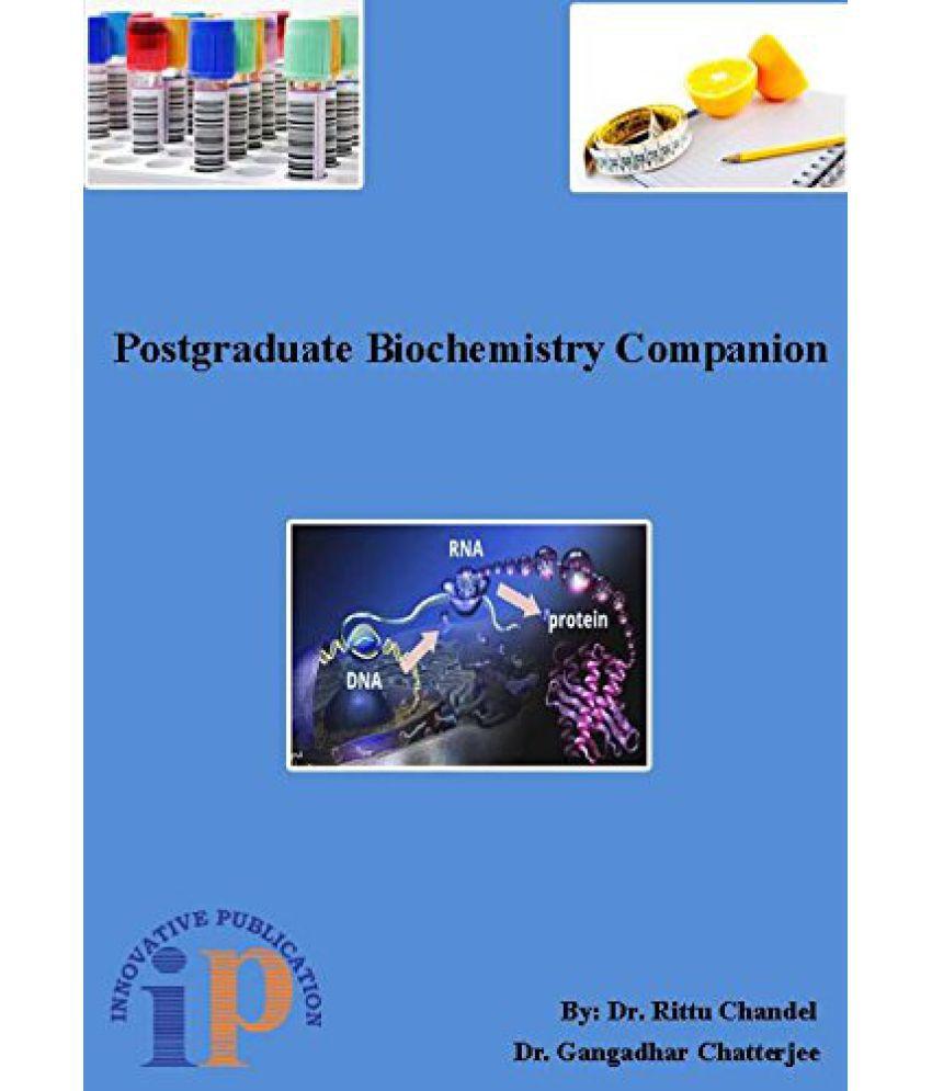 POSTGRADUATE BIOCHEMISTRY COMPANION