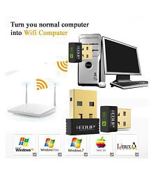 Everything Imported EDUP Mini Wireless Wi-Fi Nano USB Adapter 450 3G Black