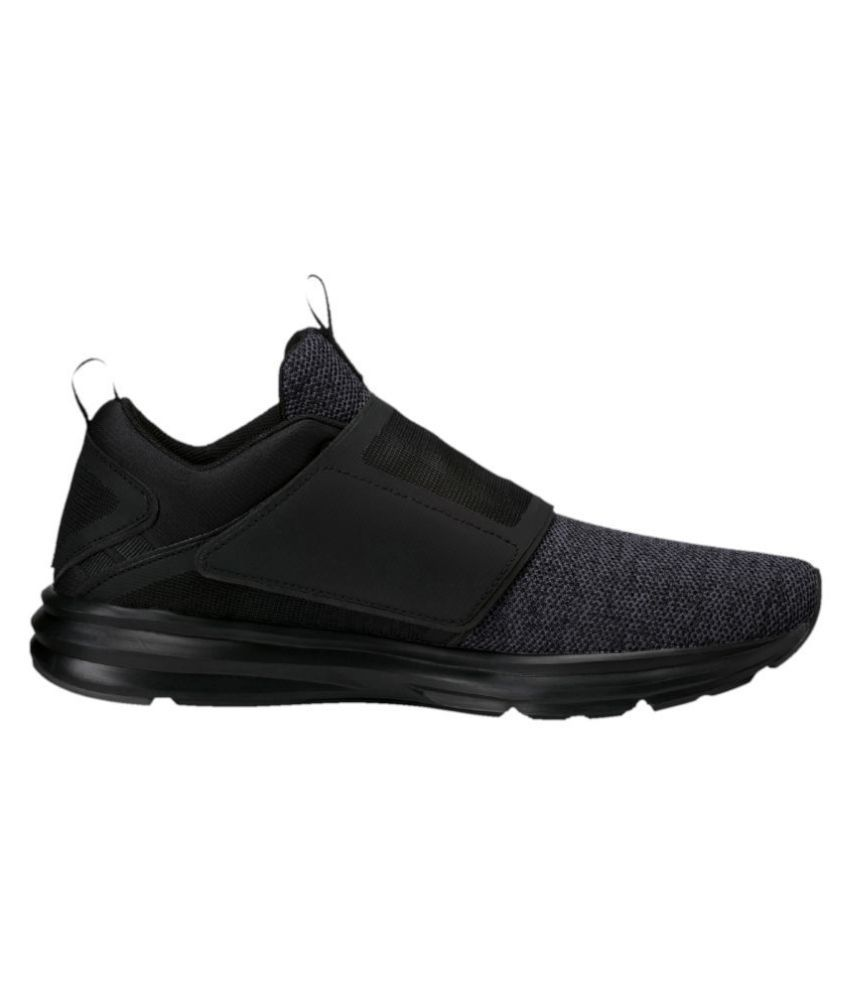 d7899f919fb84b Puma ENZO STRAP KNIT MEN S Black Running Shoes - Buy Puma ENZO STRAP ...