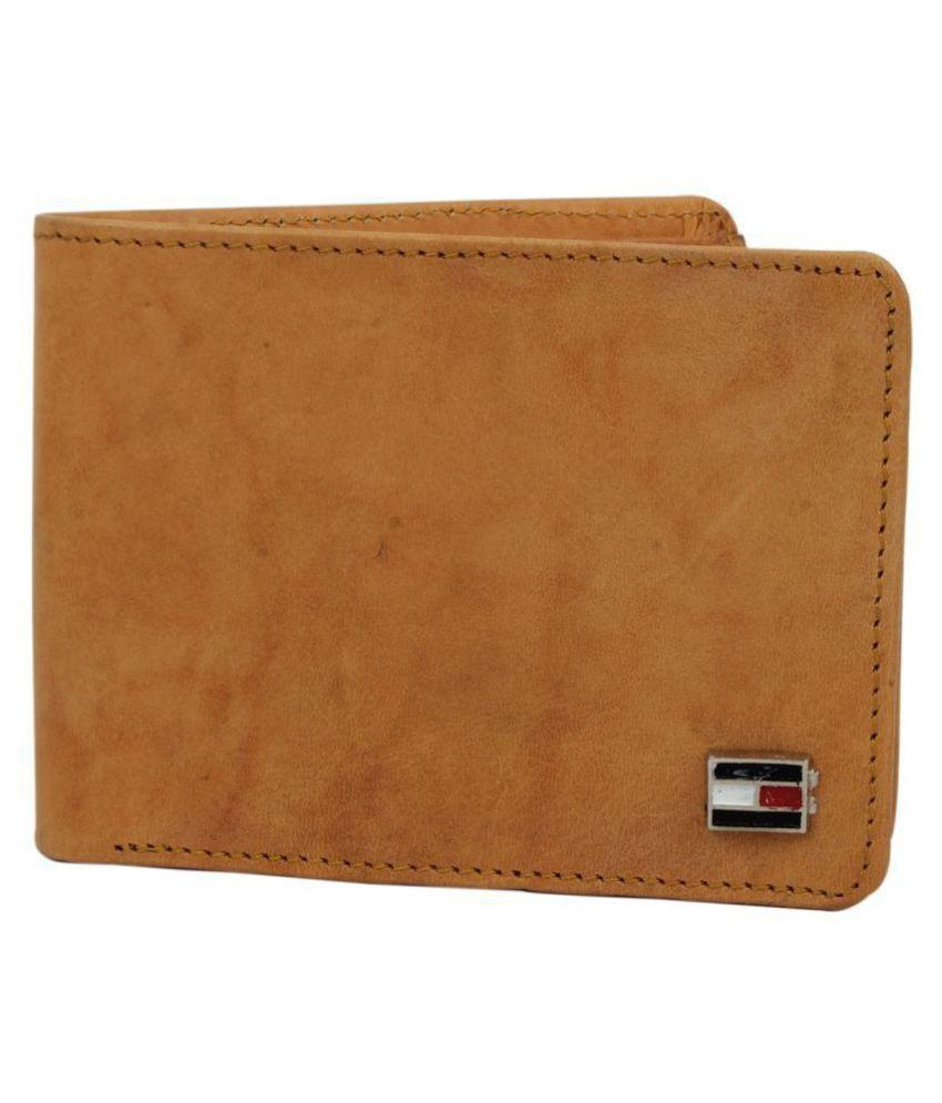 Tommy Hilfiger Leather Tan Casual Regular Wallet